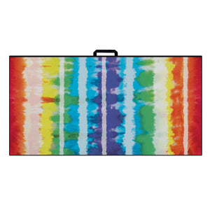 Ultimate Microfiber Towel | Rainbow Stripe Tie Dye