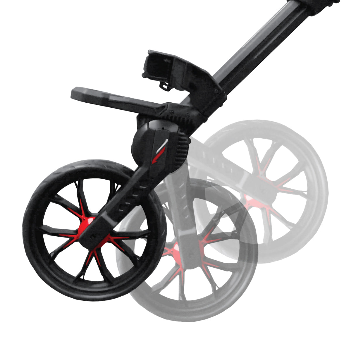 Nitron Auto-Open Push Cart