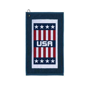 USA Image Dye Edge Towel