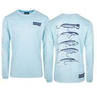 Crewneck Fishing Shirt - Usual Suspects