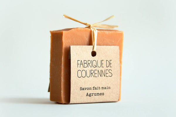 Savon aux agrumes home made - HOME TO YOU