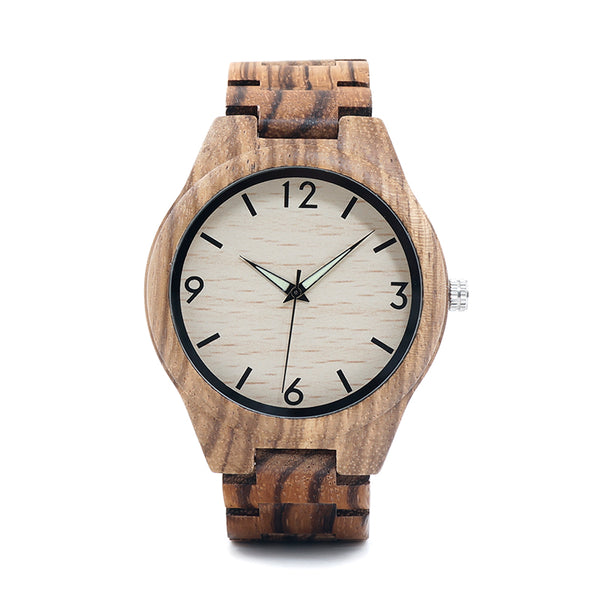 Montre FEMME en bois - Flore - HOME TO YOU