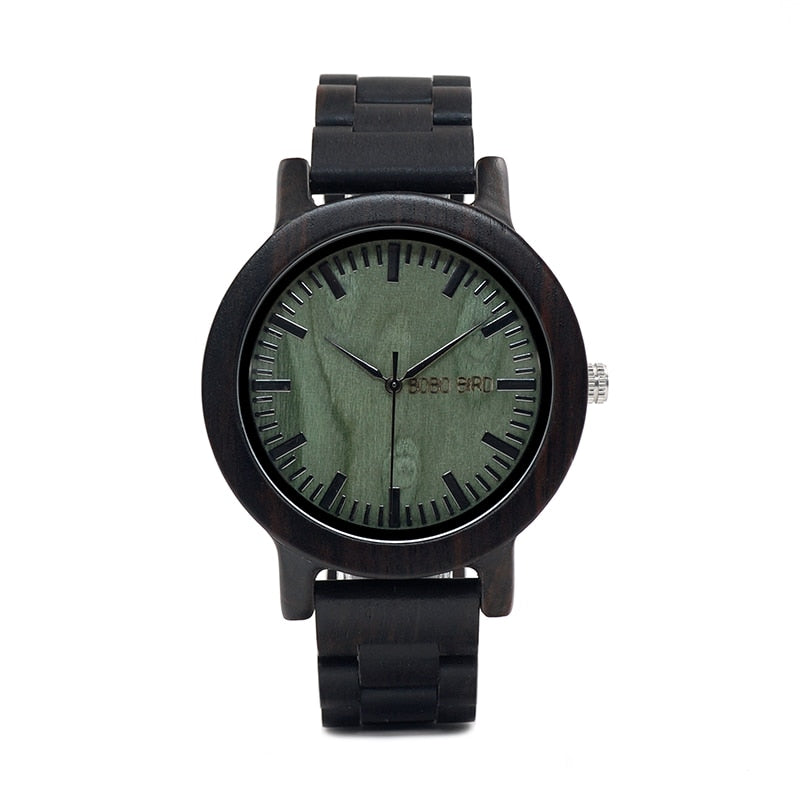 Montre HOMME en bois - Rhys - HOME TO YOU