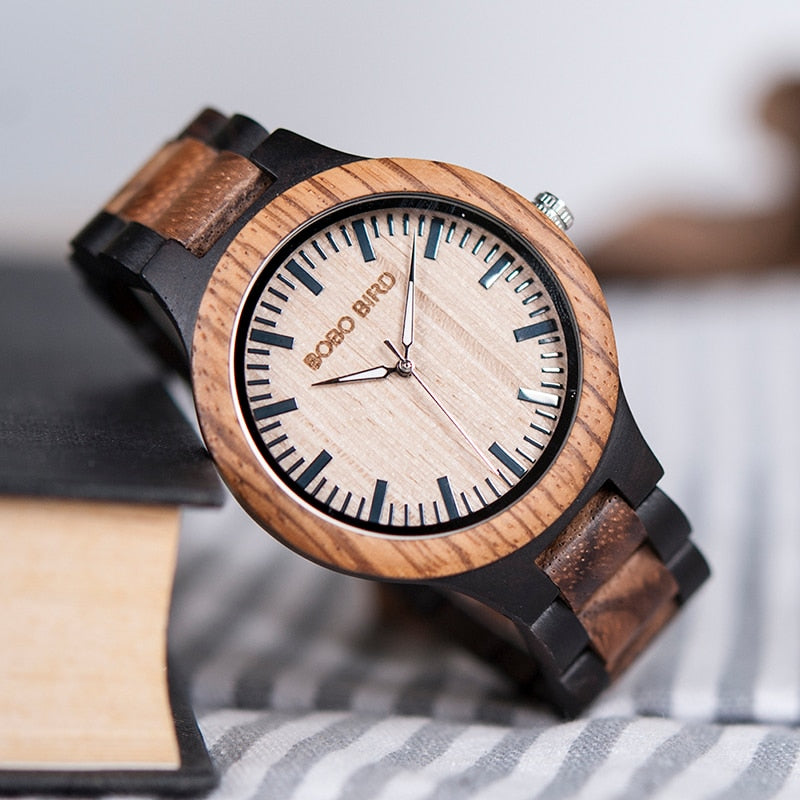 Montre HOMME en bois - Shawn - HOME TO YOU