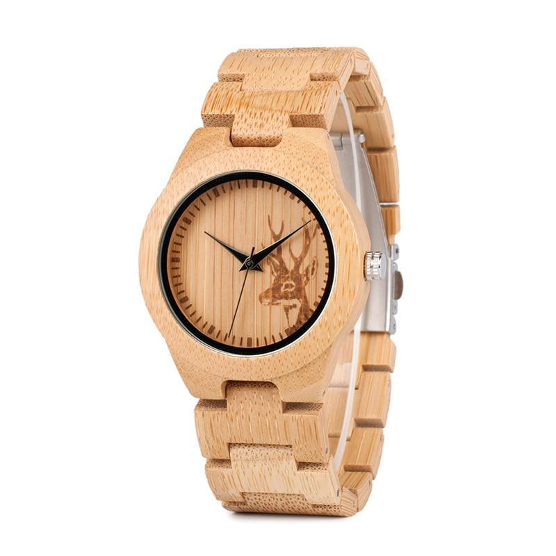 Montre FEMME en bois - Freya - HOME TO YOU