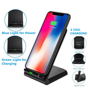 Fast Wireless Charging Docking Dock Station - BlueTechTalk