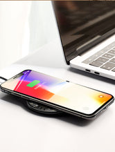 Load image into Gallery viewer, 10W Glass Qi Wireless Charger - BlueTechTalk