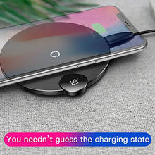 Load image into Gallery viewer, Baseus LED Qi Wireless Charging Pad - BlueTechTalk