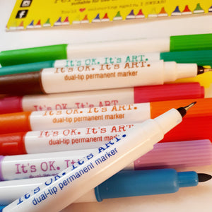 (Wholesale) It's OK. It's ART. Colouring Markers