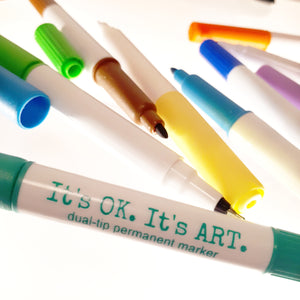 It's OK. It's ART. Colouring Markers