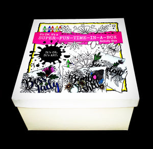 EXTREME Super-Fun-In-A-Box ACTIVITY BOX