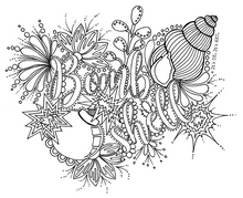 Load image into Gallery viewer, FREE Colouring Pages - Family Friendly Under The Sea (Digital Download)