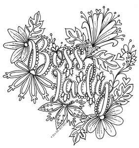 FREE Colouring Sheets - ADULT MOM themed colouring pages (Digital Download)