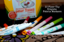 Load image into Gallery viewer, (Wholesale) Crayola Fabric Markers