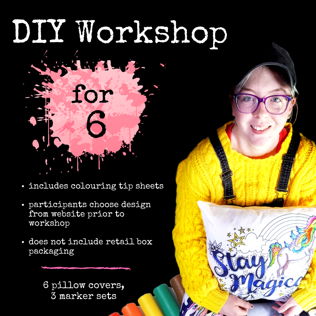 (Wholesale) Workshop Package (for  6, 8, or 10 participants)