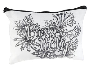(Wholesale) Boss Lady Zip Pouch