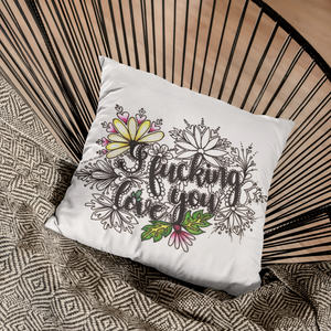 (Wholesale) I Fucking Love You Pillow Cover (ONLY)