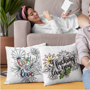 (Wholesale) Love Is Love Pillow Cover (ONLY)