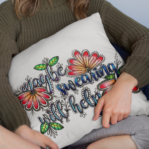 Maybe Swearing Will Help Pillow Cover