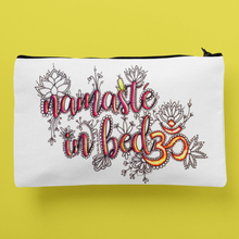 Load image into Gallery viewer, (Wholesale) Namaste In Bed Zip Pouch