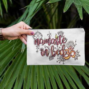 (Wholesale) Namaste In Bed Zip Pouch