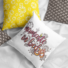 Load image into Gallery viewer, Namaste In Bed Pillow Cover