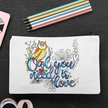 Load image into Gallery viewer, (Wholesale) Owl You Need Is Love Zip Pouch