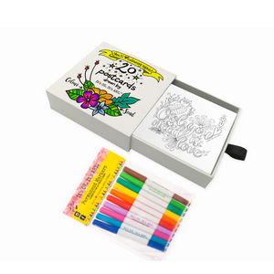 Colour & Send: Postcard Stationary Box Set