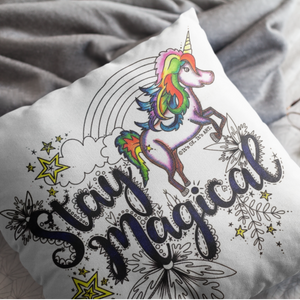 (Wholesale) Stay Magical Pillow Cover (ONLY)