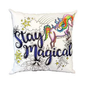 Stay Magical Pillow Cover