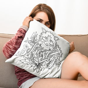 (Wholesale) Trashy Pillow Cover (ONLY)