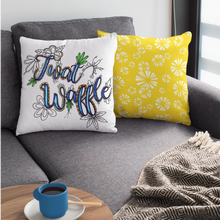 Load image into Gallery viewer, Twat Waffle Pillow Cover