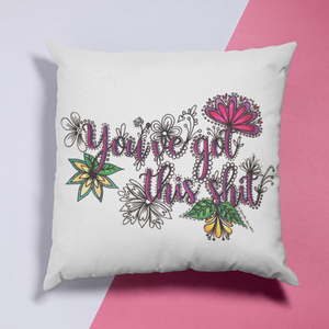 (Wholesale) You've Got This Shit Pillow Cover (ONLY)