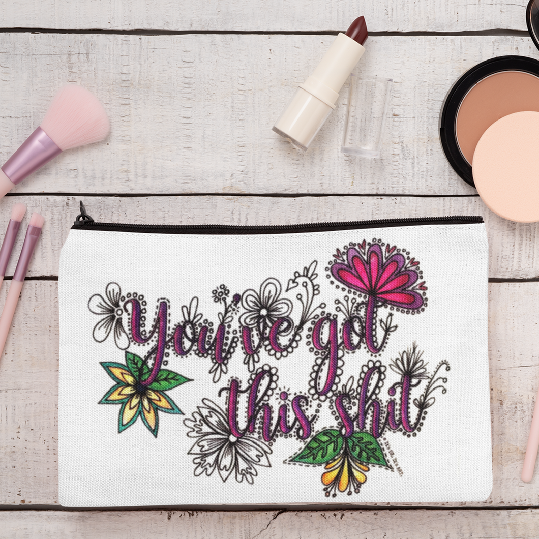 (Wholesale) You've Got This Shit Zip Pouch