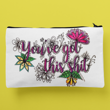 Load image into Gallery viewer, (Wholesale) You've Got This Shit Zip Pouch