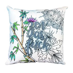 (Wholesale) Zen As Fuck Pillow Cover (ONLY)