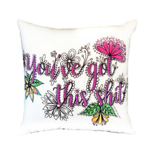 Load image into Gallery viewer, You've Got This Shit Pillow Cover