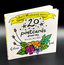 Load image into Gallery viewer, Colour & Send: Postcard Booklet