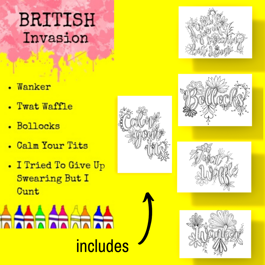 Postcard Pack-British Invasion