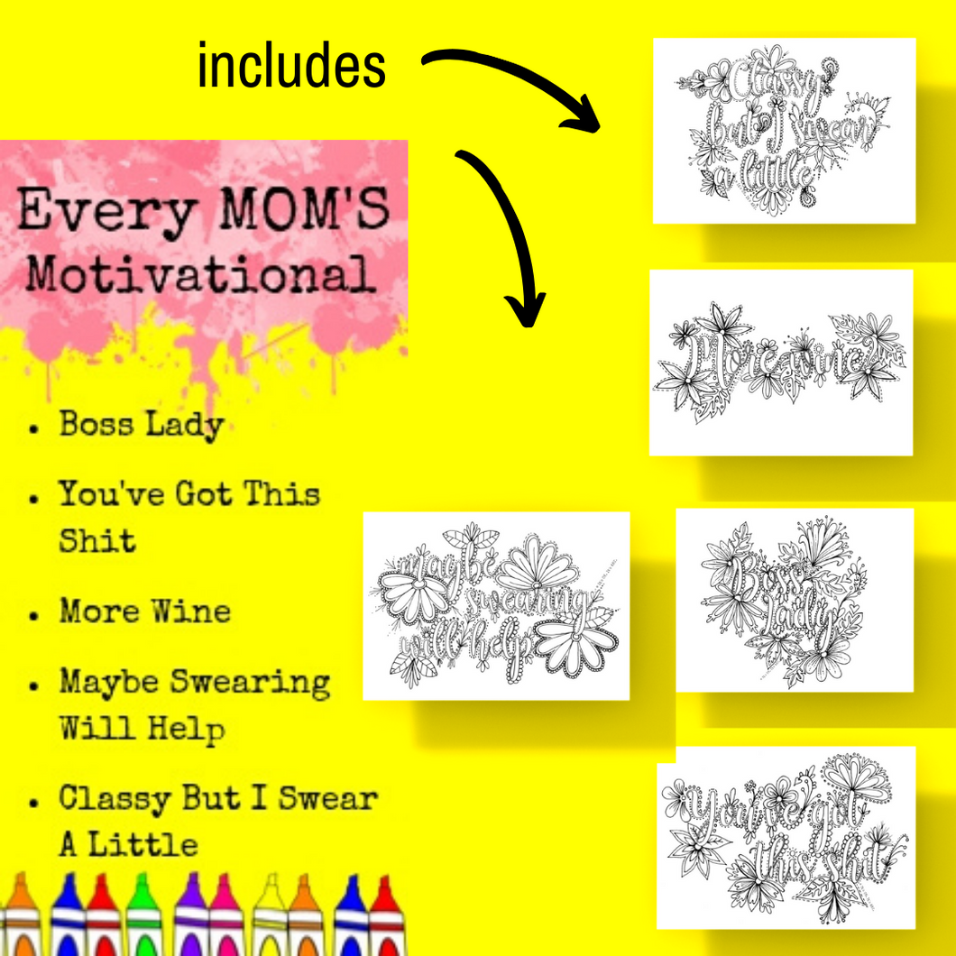 Postcard Pack-Every Mom's Motivation