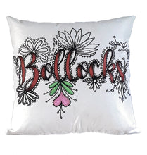 Load image into Gallery viewer, (Wholesale) Bollocks Pillow Cover (ONLY)