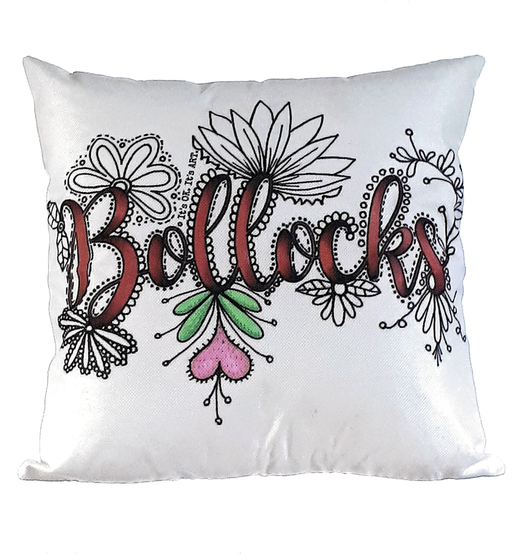 (Wholesale) Bollocks Pillow Cover (ONLY)