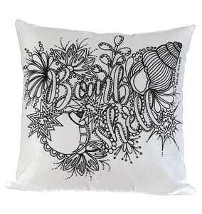 Bombshell Pillow Cover