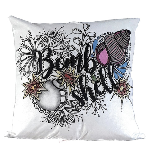 Bombshell Pillow Cover (Clearance)