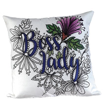 Load image into Gallery viewer, Boss Lady Pillow Cover