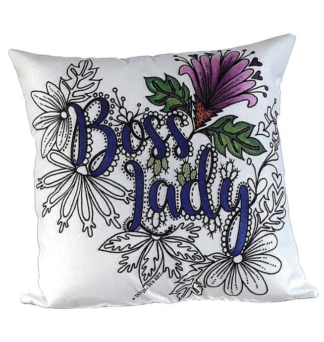 Boss Lady Pillow Cover