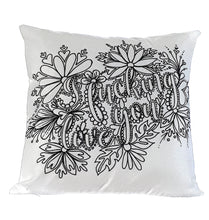 Load image into Gallery viewer, I Fucking Love You Pillow Cover