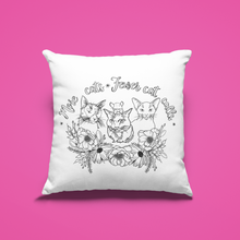 Load image into Gallery viewer, (Wholesale) More Cats, Fewer Cat Calls Pillow Cover (ONLY)