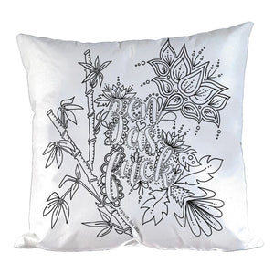 Zen As Fuck Pillow Cover