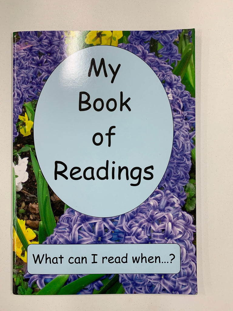 My Book of Readings - What can I read when...?